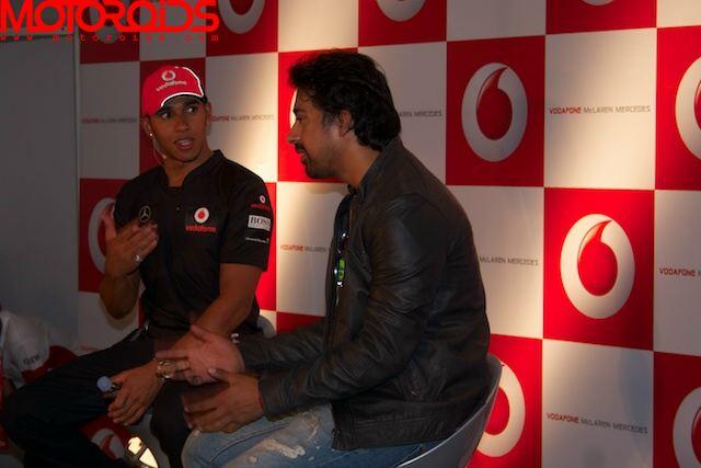 Lewis Hamilton Bangalore India (3)