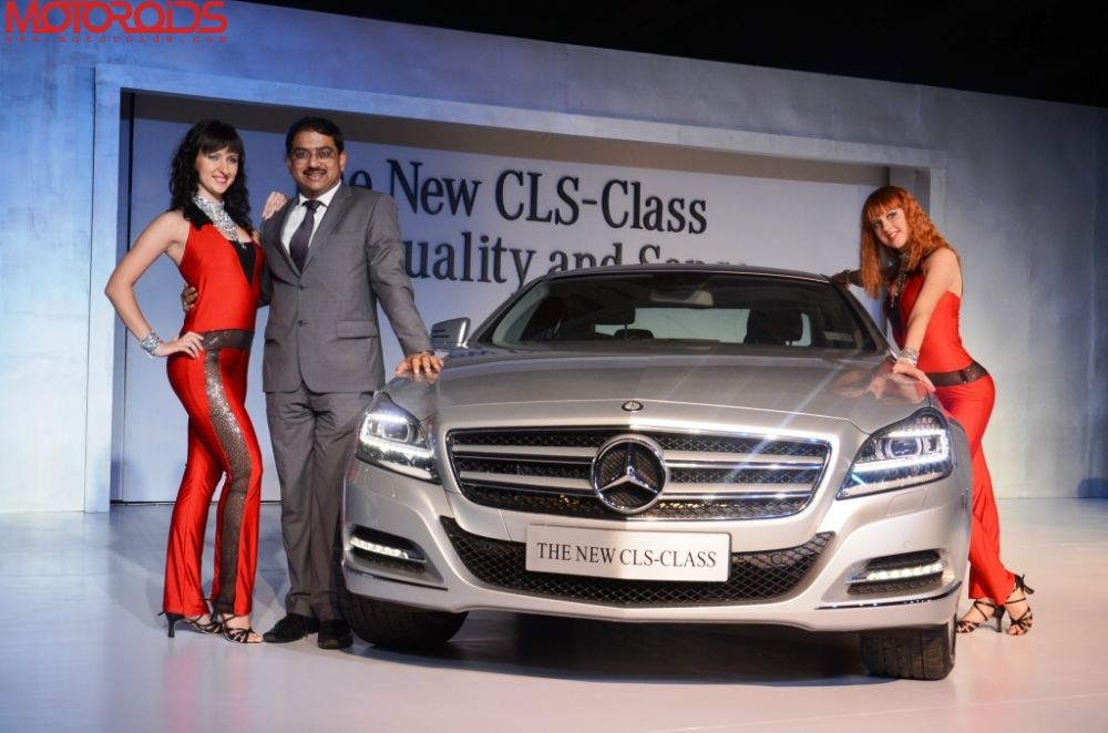 Mercedes CLS class India launch