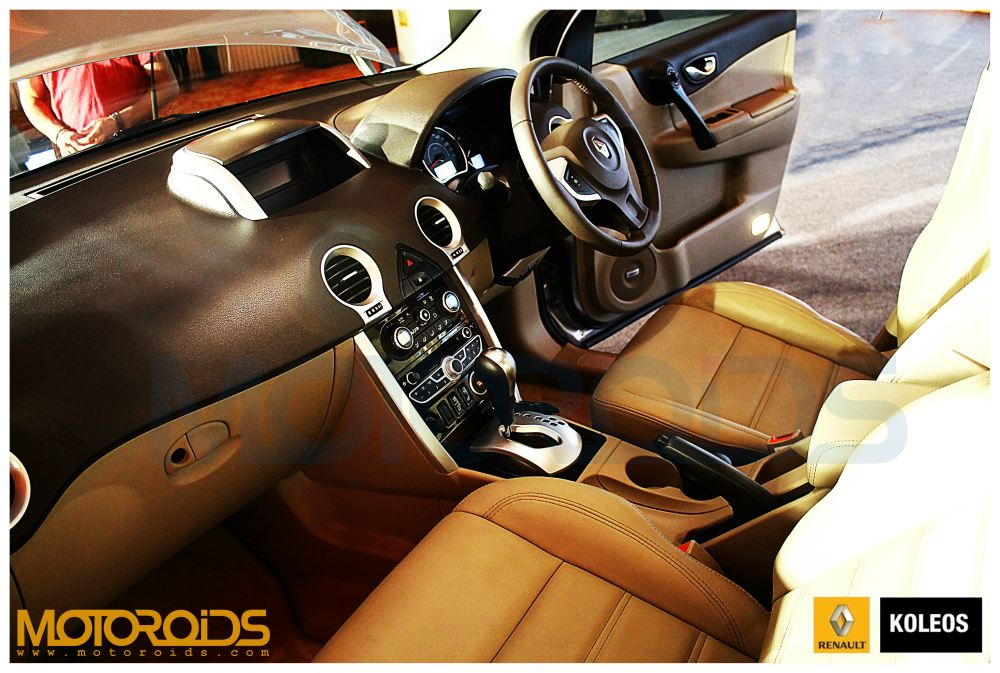 Koleos dashboard