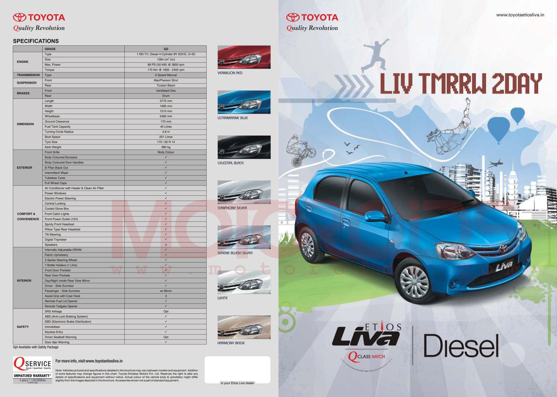 Liva Diesel Brochure 1