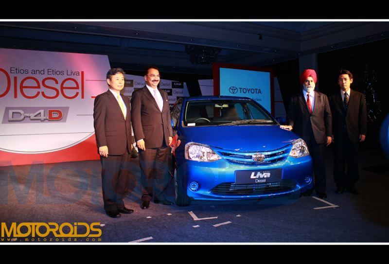 Etios Liva diesel launch
