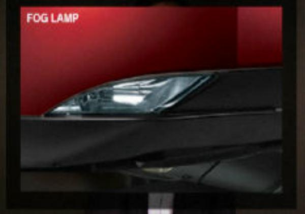Mahindra XUV500 fog lamp