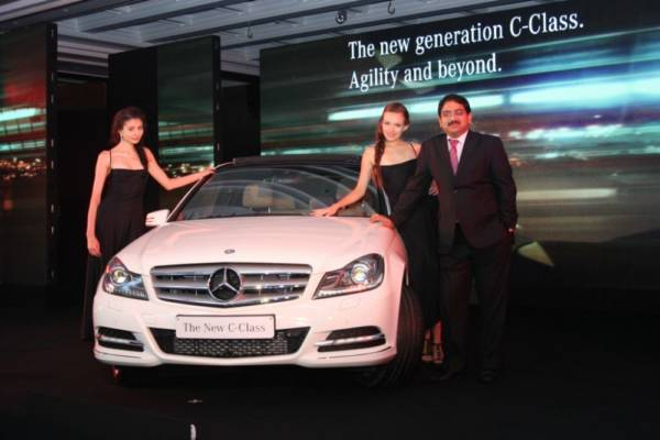 Mercedes Benz India C-class-India.jpg