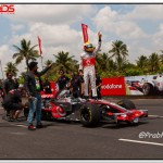 Updated: Lewis Hamilton In Bangalore: Images and coverage