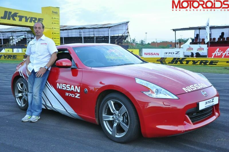Terry Grant Nissan 370Z