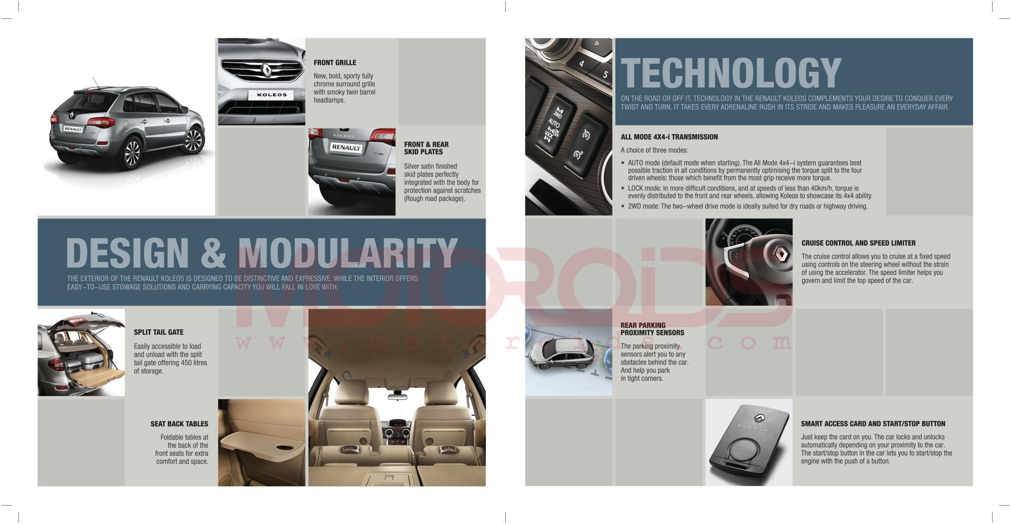 Renault Koleos Brochure