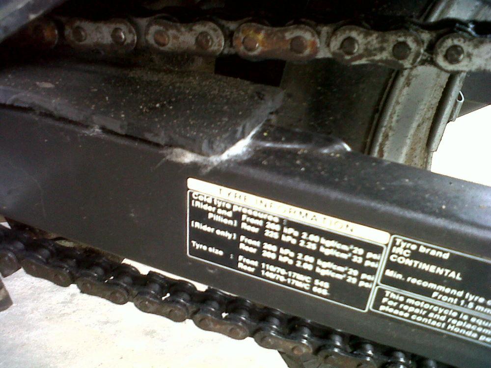 Temporary chain slider