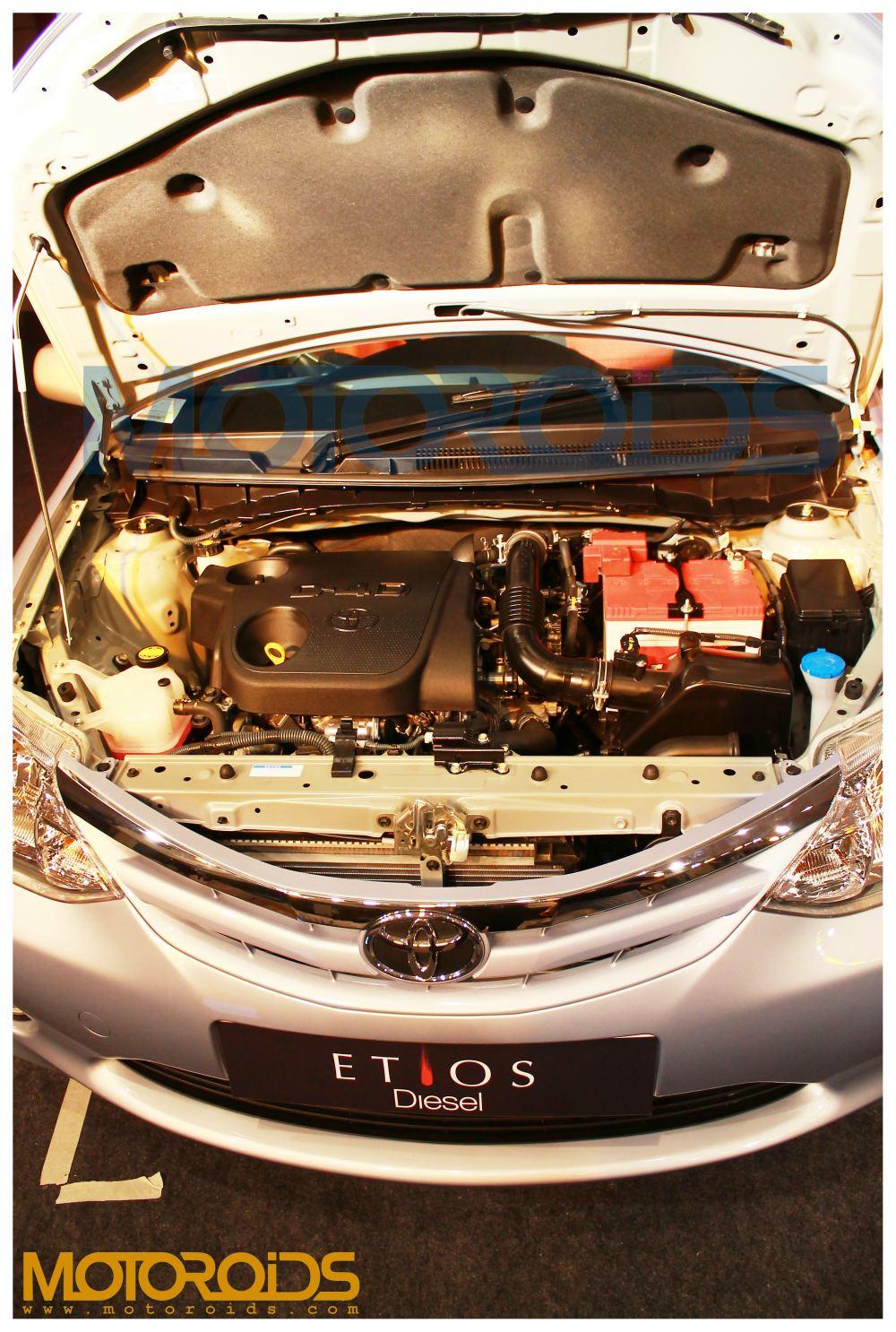 Etios sedan engine