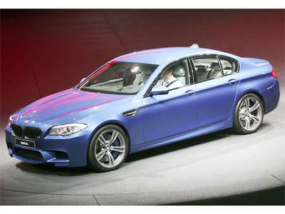 BMW presents the company's new M5 series