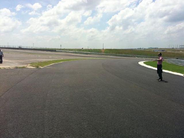 Buddh International Circuit, F1 India track (2)