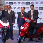2012 Auto Expo: Mahindra two wheelers showcase MGP30 Duro DZ