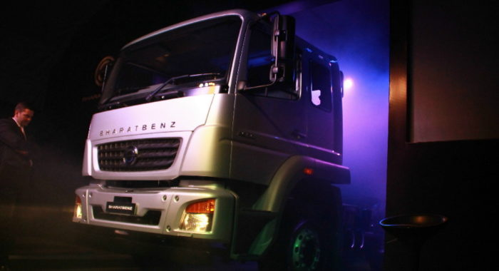 bharatbenz trucks launched in nepal