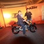 IMAGE GALLERY: KTM 200 DUKE launch event pics