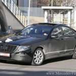 SPIED: Undisguised images of the next gen Mercedes Benz S Class