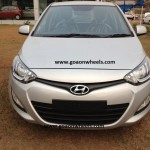 Hyundai i20 facelift spotted at Goa dealer. Launch soon