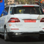 Mercedes Benz ML350 CDI Caught on Indian Roads