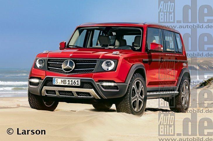 Mercedes-GLG-Class