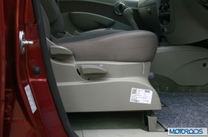 Mahindra Quanto driver seat height adjuster