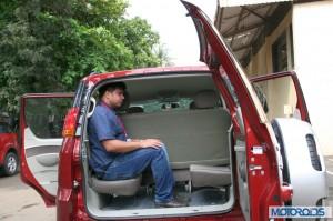 Mahindra Quanto rear seats