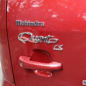 Mahindra Quanto tail gate