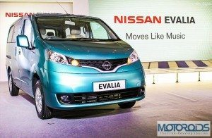 Nissan Evalia Launched in Mumbai