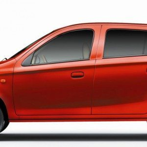 New Maruti Alto 800 side