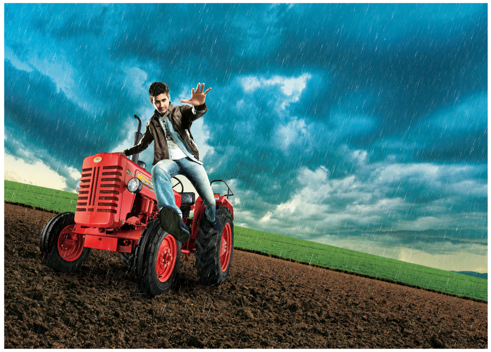 Mahindra Tractors Mahesh Babu