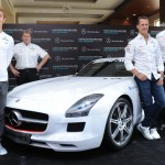 Mercedes AMG Petronas announces the F1 Indian Grand Prix Team