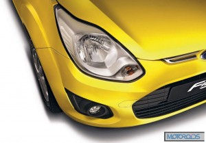 New Figo headlamp