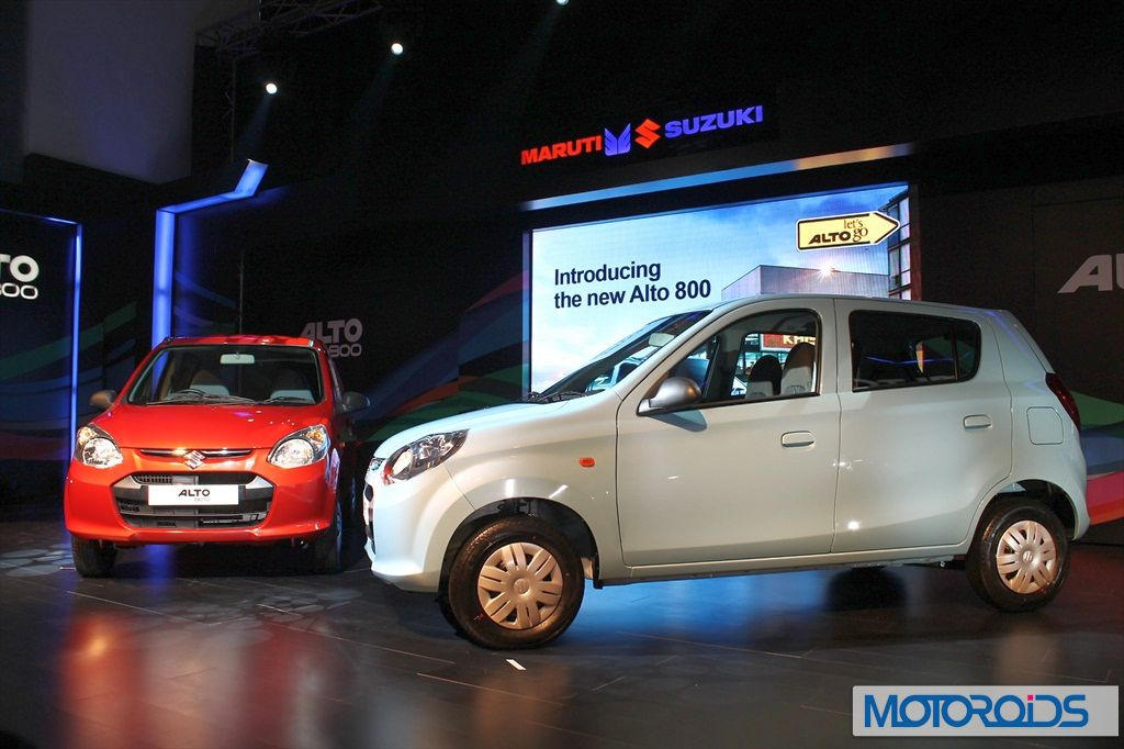Maruti Alto 800 Pictorial review: Images and details galore