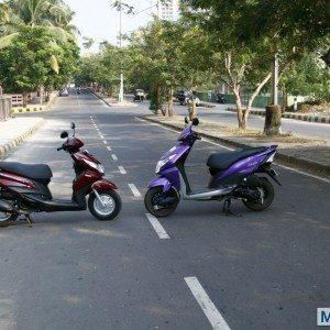 Honda Dio vs Yamaha Ray (5)