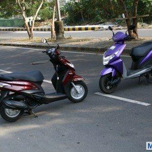Honda Dio vs Yamaha Ray (6)