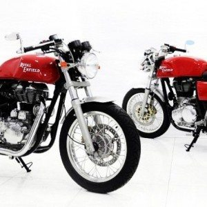 Royal Enfield Cafe Racer India Launch