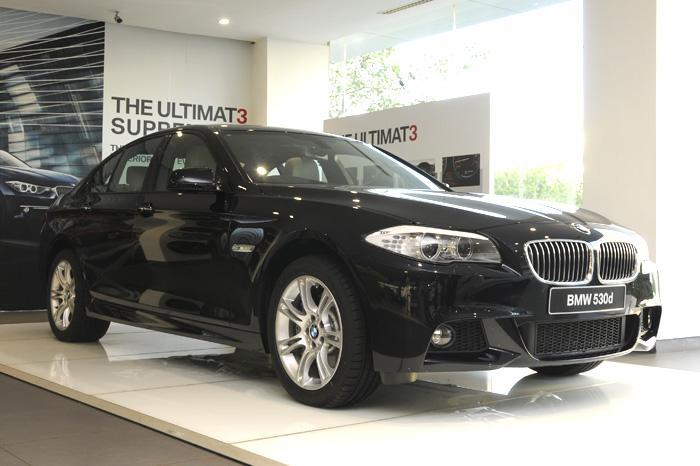 BMW 530d M Sport India 6
