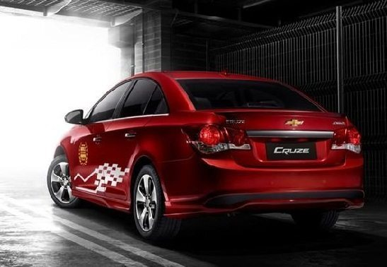 Chevrolet Cruze WTCC Edition Rear Side