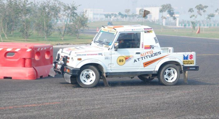 Maruti Suzuki Indian National Autocross Championship Grand Finale Kicked-off At Buddh International Circuit