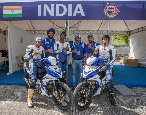 Participants-from-Team-India-at-the-9th-Yamaha-ASEAN-Cup-Race-2012-in-Phillipines