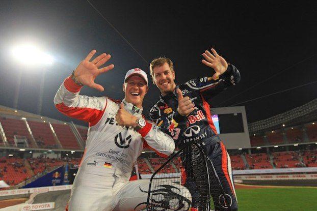 Schumacher-Vettel