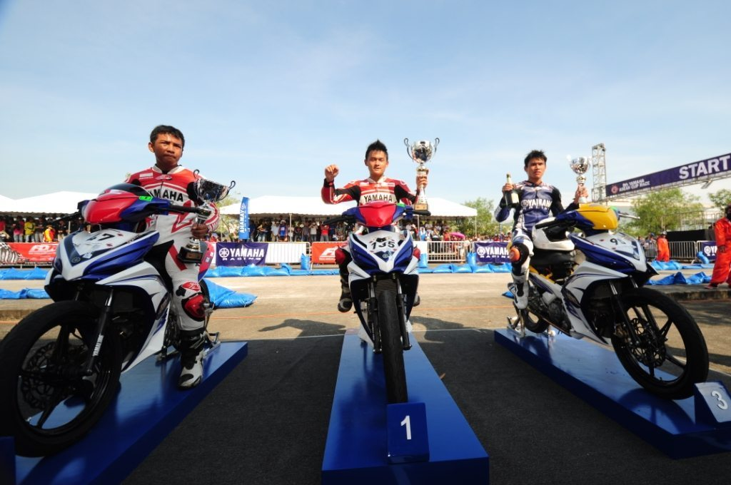 Winners-from-Thailand-at-the-9th-Yamaha-ASEAN-Cup-Rcae-2012