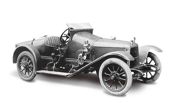 1915 Aston Martin Coal Scuttle