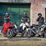 2013 Honda 500 motorcycles