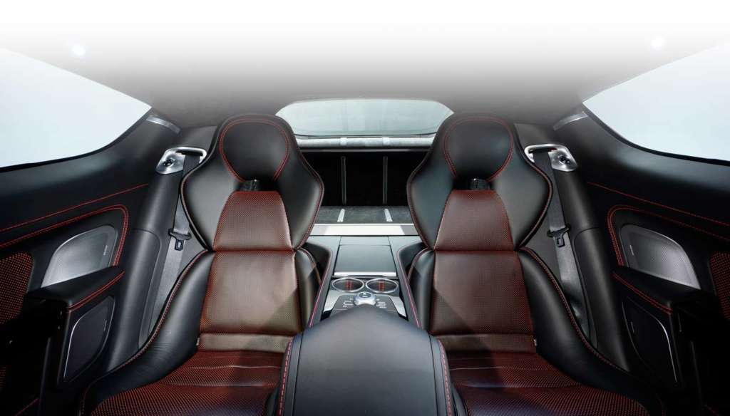 2014 Aston Martin Rapide S interiors