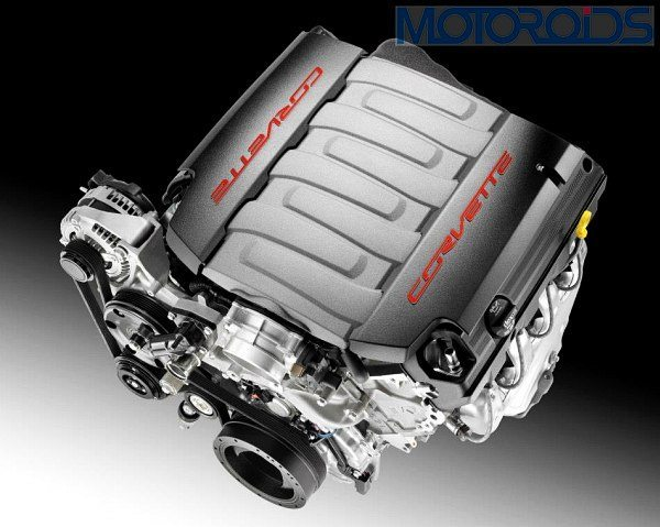 2014 Chevrolet Corvette C7 Engine
