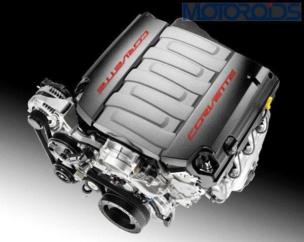 2014 Chevrolet Corvette C7 Engine