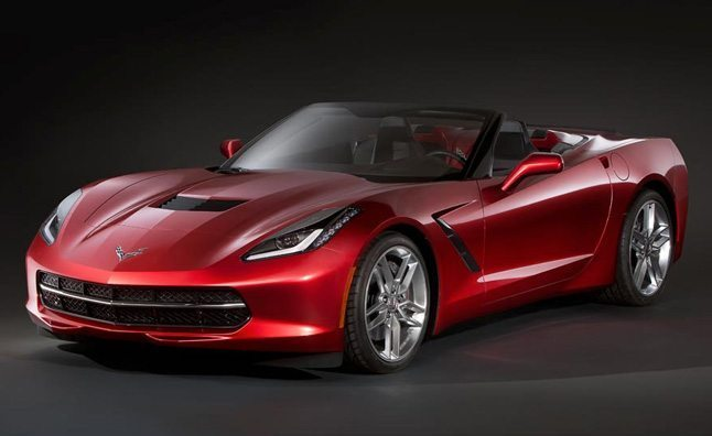 2014 Corvette Stingray convertible 2