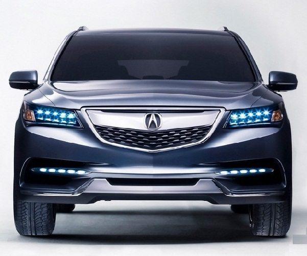 2014 Acura MDX Showcased At Detroit