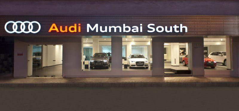 Audi Mumbai South Showroom