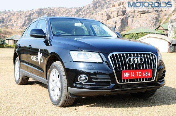 Audi Q5 Facelift India