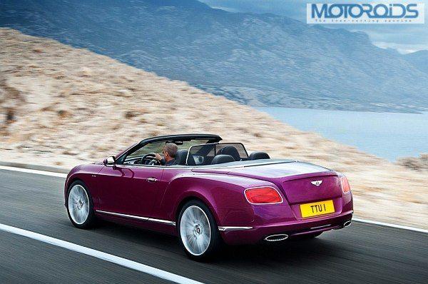 Bentley Continental GT Speed Convertible 3
