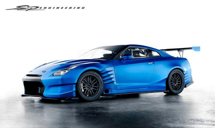 Fast and Furious Nissan GTR-2